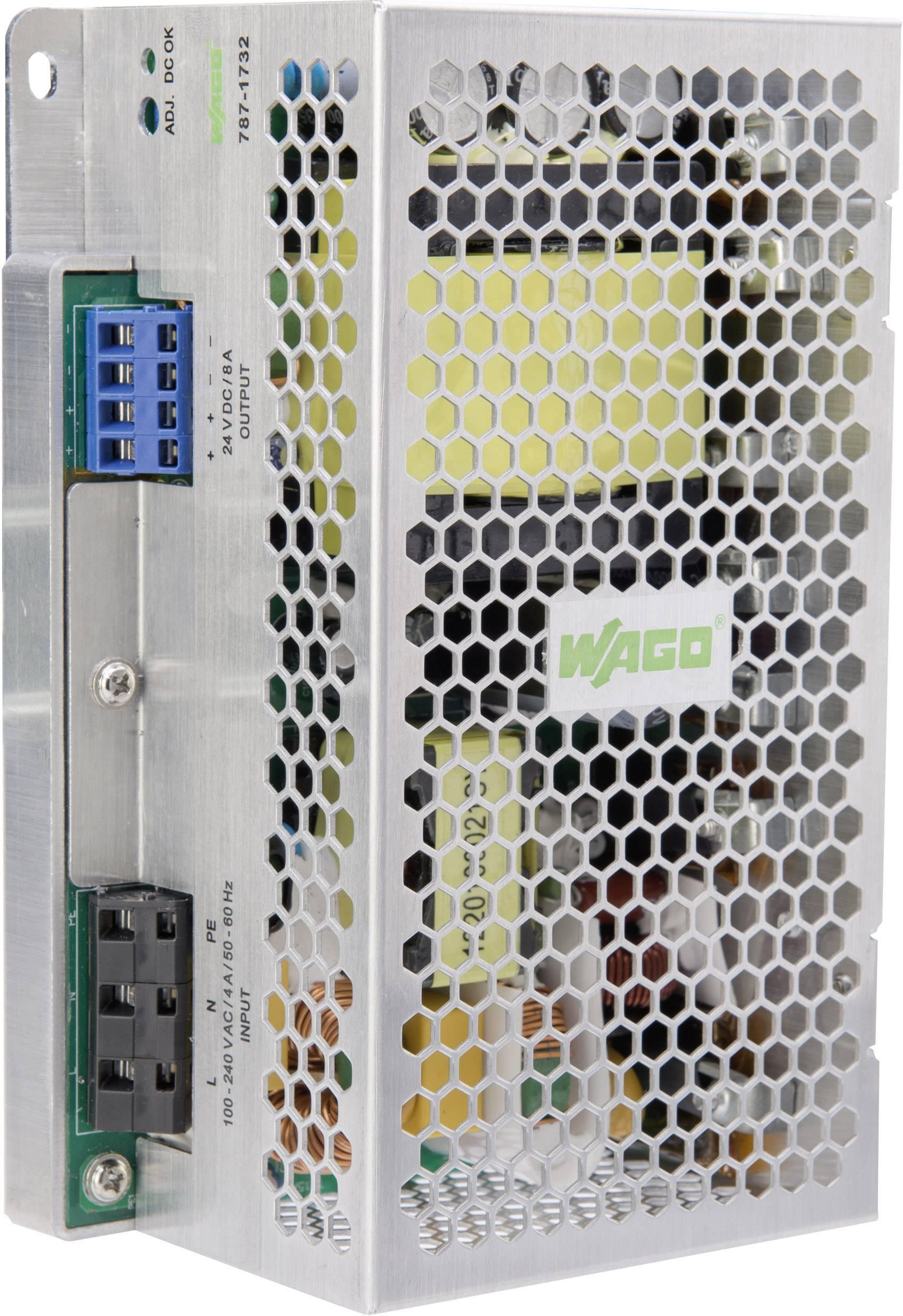 Sieťový zdroj na montážnu lištu (DIN lištu) WAGO 787-1732, 1 x, 24 V, 10 A, 240 W
