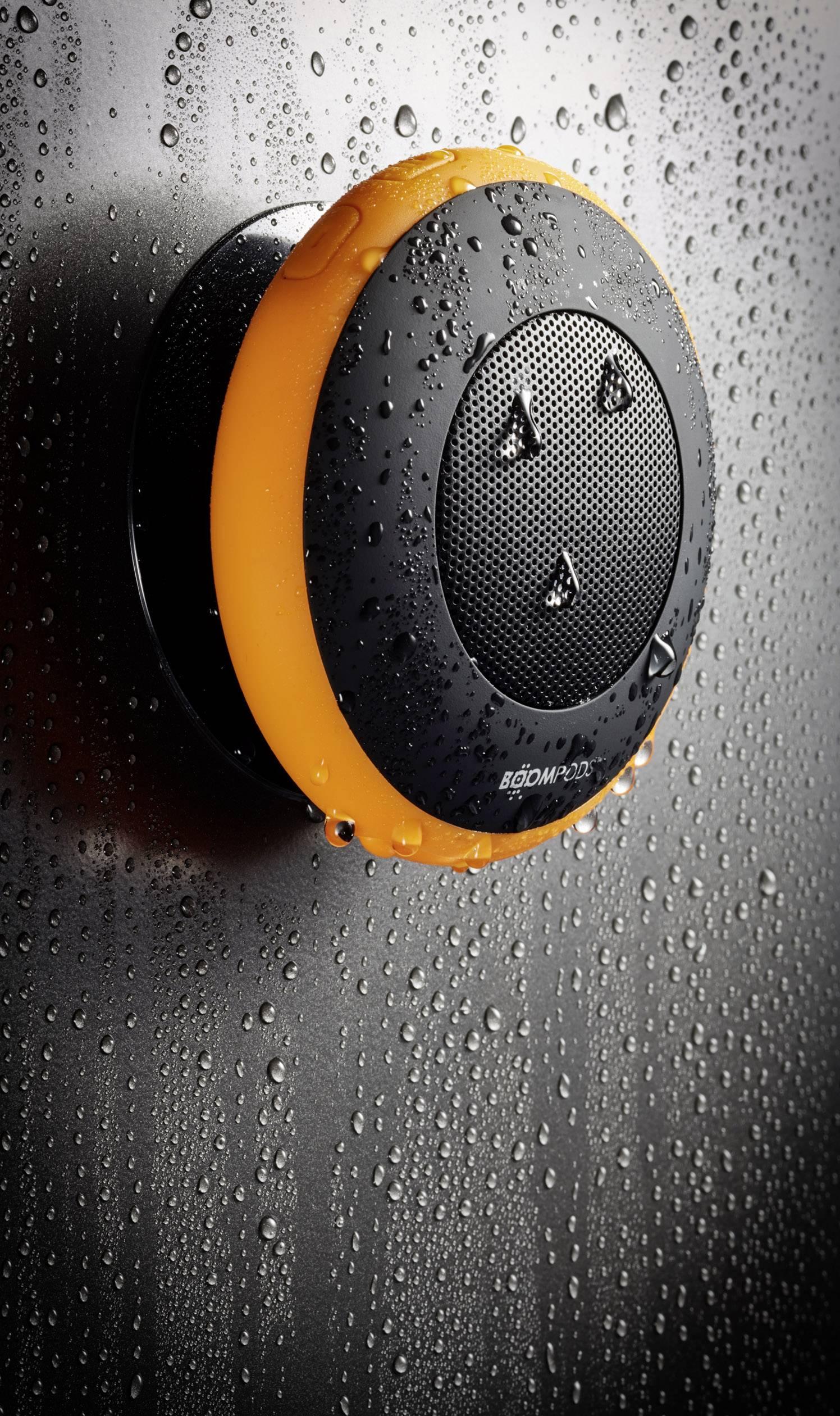Vodotěsný Bluetooth® reproduktor Boompods Aquapod AQPORA, oranžová