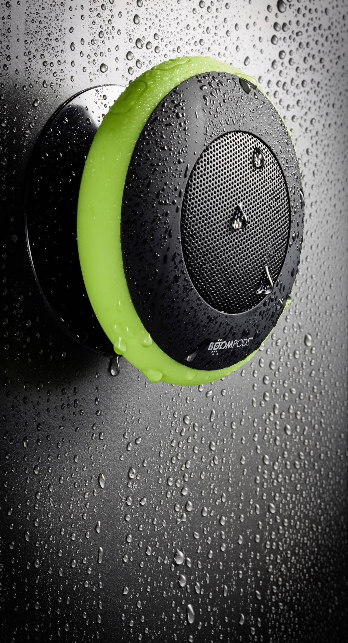 Bluetooth® reproduktor Boompods Aquapod hlasitý odposluch, odolná/ý striekajúcej vode, nárazuvzdorná/ý, zelená