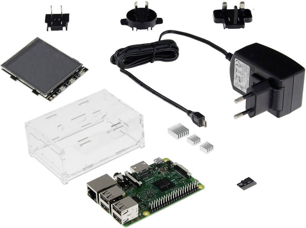 Raspberry Pi® 3 Model B sada s displejom Renkforce, 1 GB