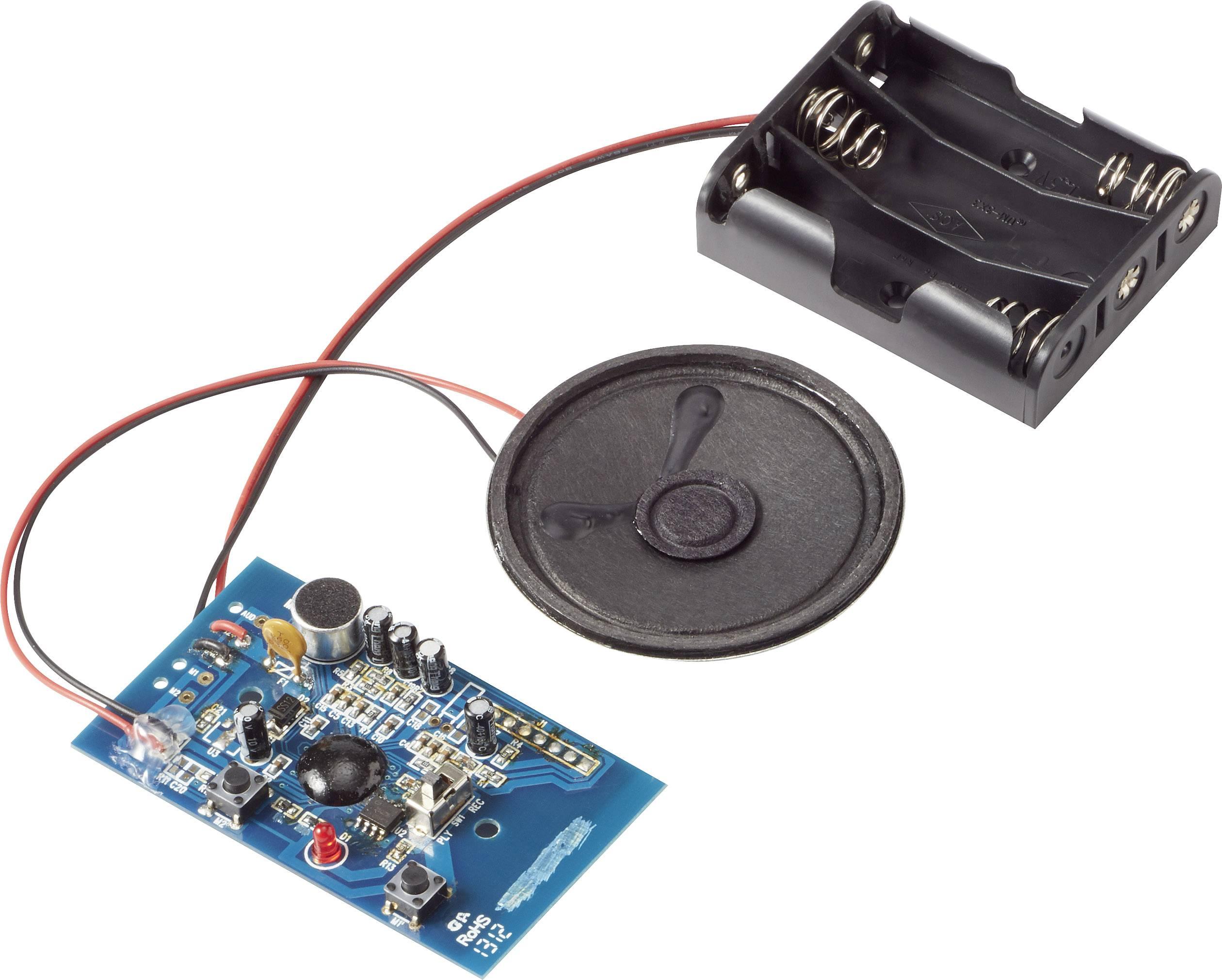 Hlasový modul hotový modul Conrad Components BRC34M, Doba záznamu 20 s