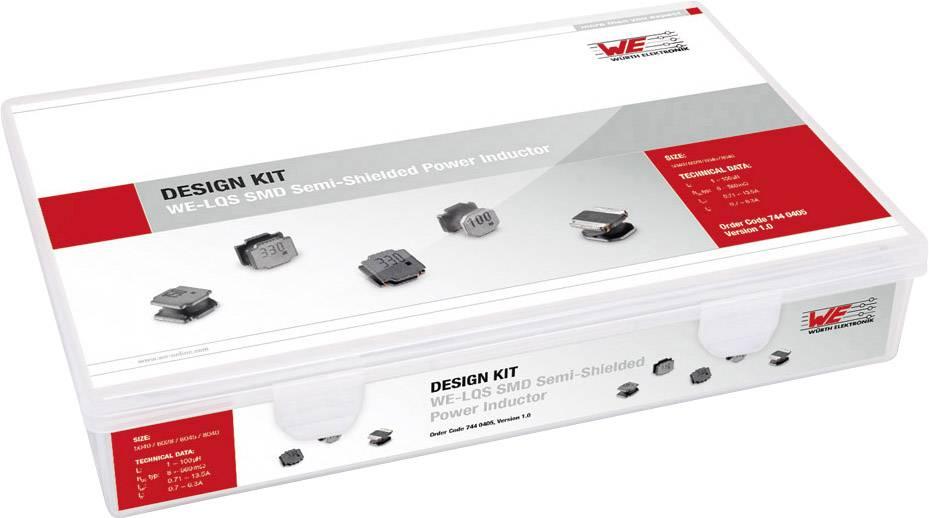 Sada cívek Würth Elektronik WE-LQS 7440405, 660 ks