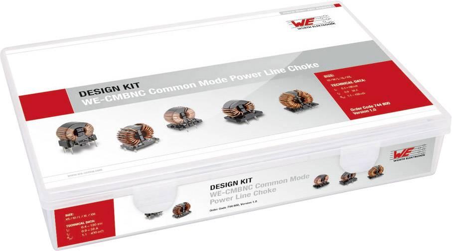 Súprava tlmivky Würth Elektronik WE CMBNC 744.800, 21 ks