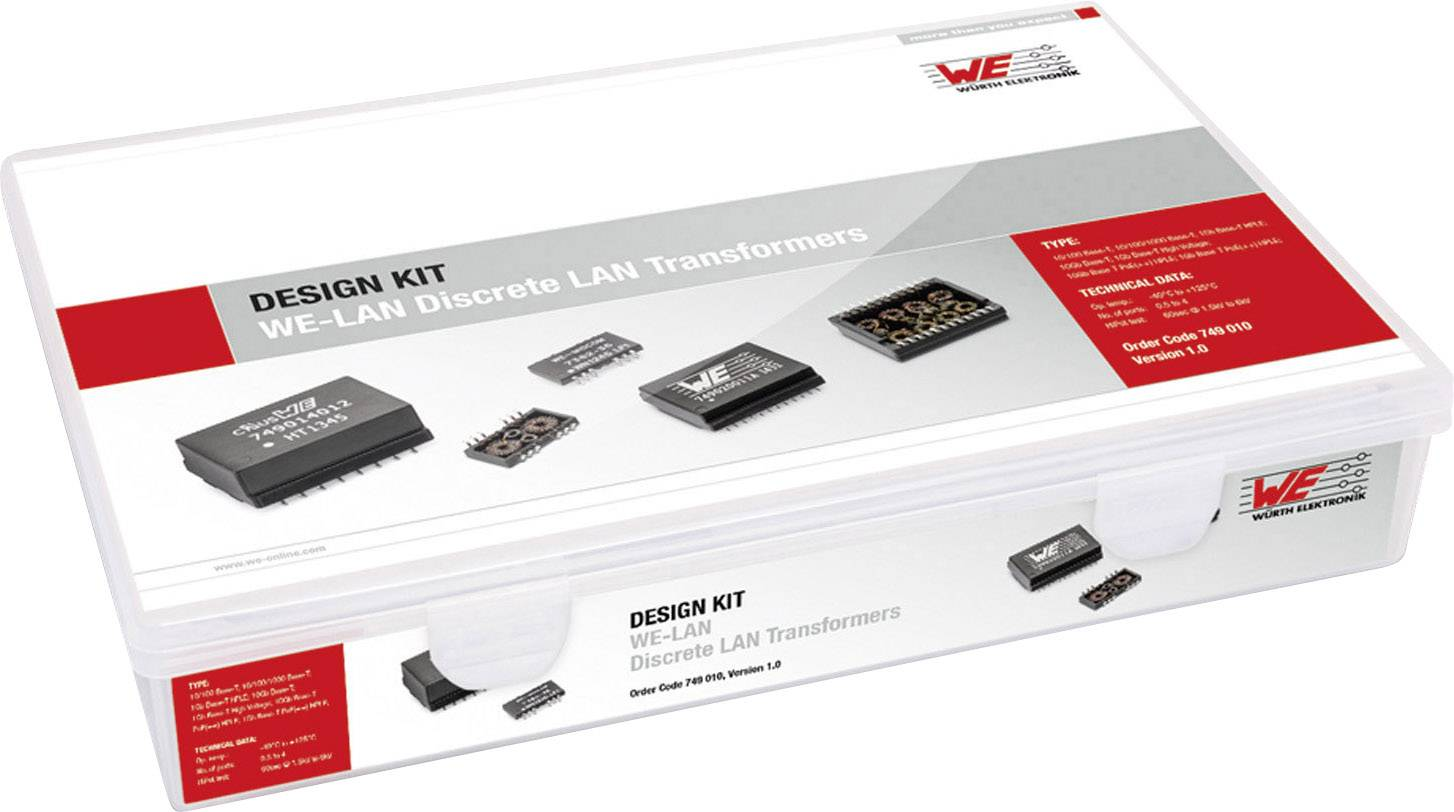 Würth Elektronik WE-LAN ​​749 010, 75 dielov