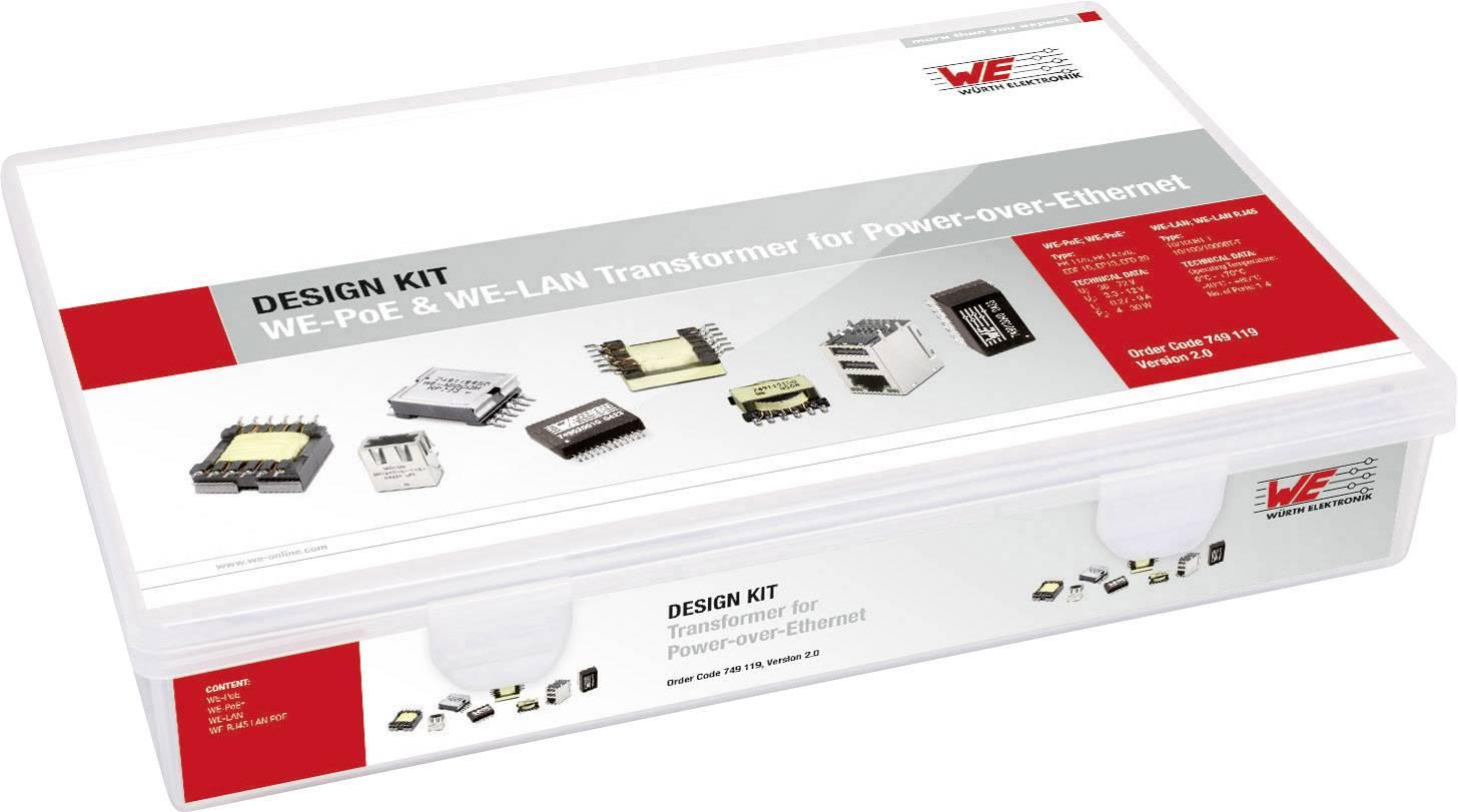 Sada Würth Elektronik WE-PoE 749.119