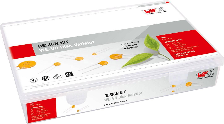 Súprava varistorov pre návrhárov Würth Elektronik WE-VD 820 999 820999, 300 dielov