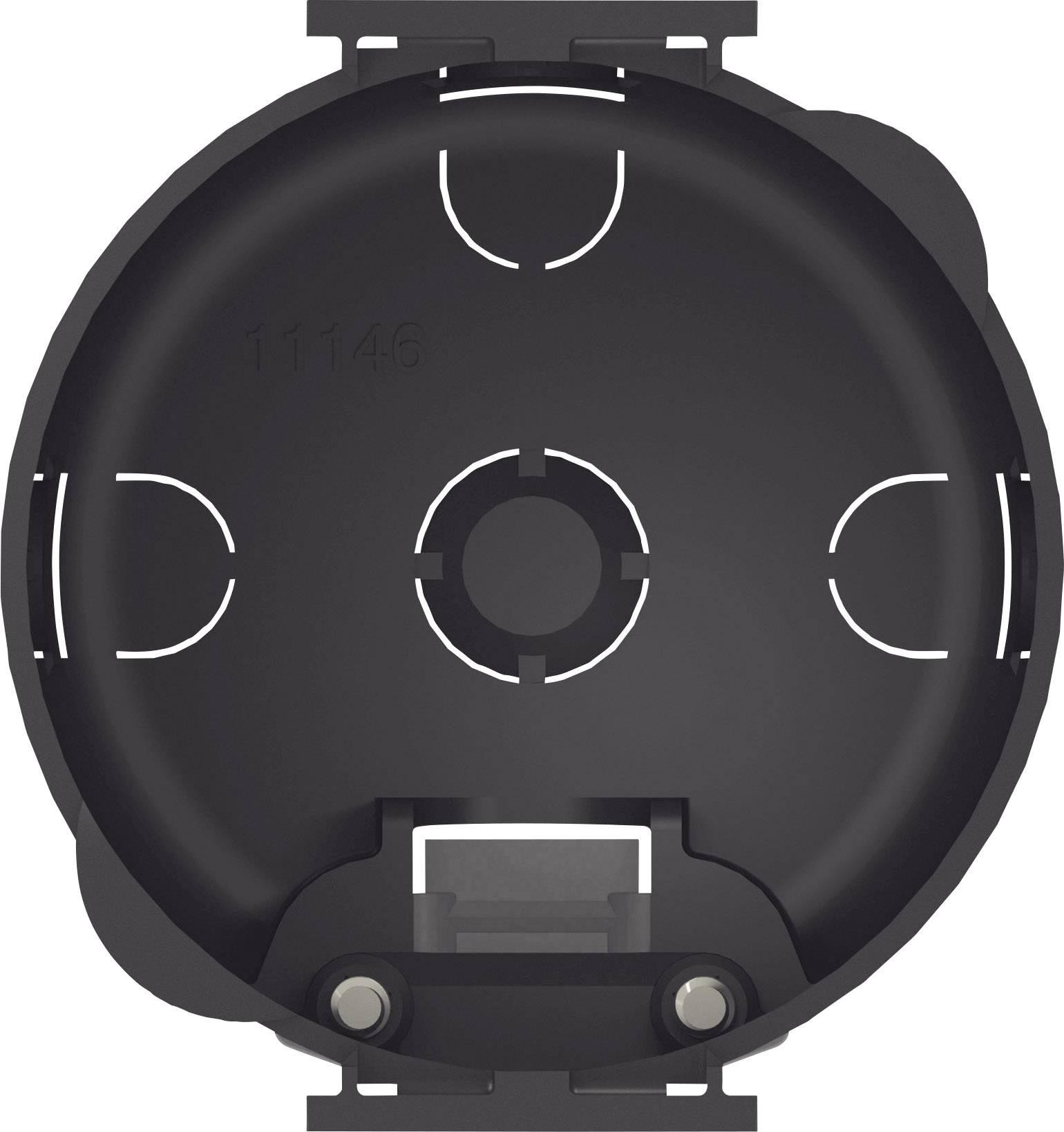 Instalační krabička inprojal elektrosysteme D 5042ZR, černá