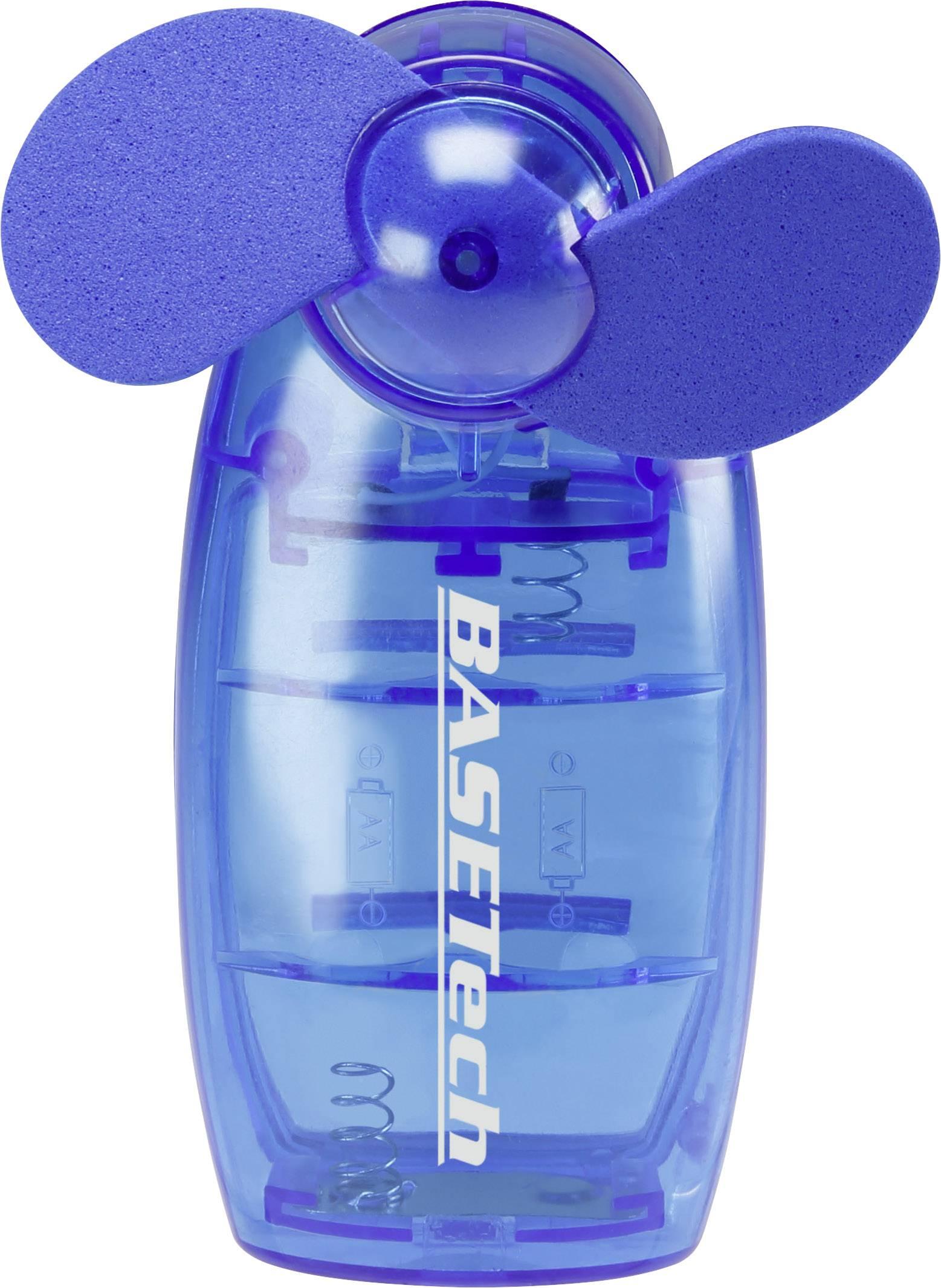 Ručný ventilátor Basetech TM-2108A, modrá