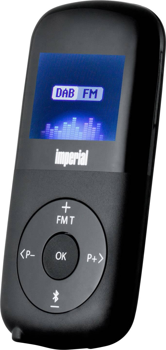DAB+ kapesní rádio Imperial Dabman 1, Bluetooth, DAB+, FM, černá