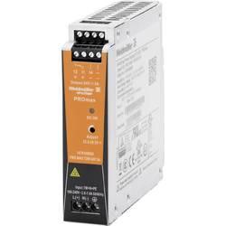 Sieťový zdroj na montážnu lištu (DIN lištu) Weidmüller PRO MAX 72W 24V 3A, 24 V/DC, 3 A, 72 W