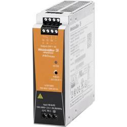 Sieťový zdroj na montážnu lištu (DIN lištu) Weidmüller PRO MAX 120W 24V 5A, 24 V/DC, 5 A, 120 W