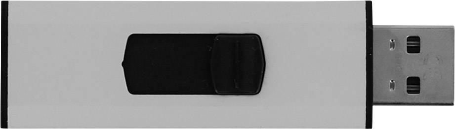 USB flash disk Xlyne Silverborn 7164002, 64 GB, USB 2.0, stříbrná