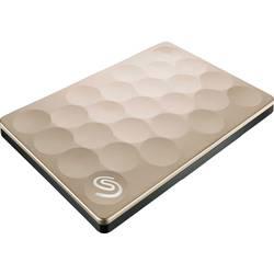"""Externý pevný disk 6,35 cm (2,5"""") Seagate Backup Plus Ultra Slim, 1 TB, USB 3.0, zlatá"""
