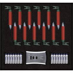 LED osvětlení na vánoční stromeček Krinner Premium Mini, vnitřní, na baterii, teplá bílá