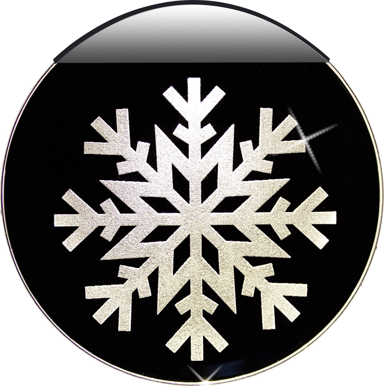 Snehová vločka LED dekorácia na okno Krinner 76100