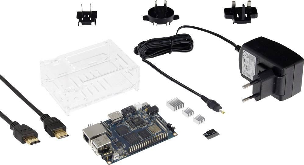Startovací sada Banana Pi M3 Starter Set, 2 GB, vč. krytu, vč. napájecího adaptéru, vč. softwaru