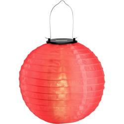 LED solárne dekoračné osvetlenie lampión Polarlite 0.06 W, IP44, červená, teplá biela