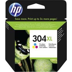 HP Inkoustová kazeta 304 XL originál azurová, purppurová, žlutá N9K07AE