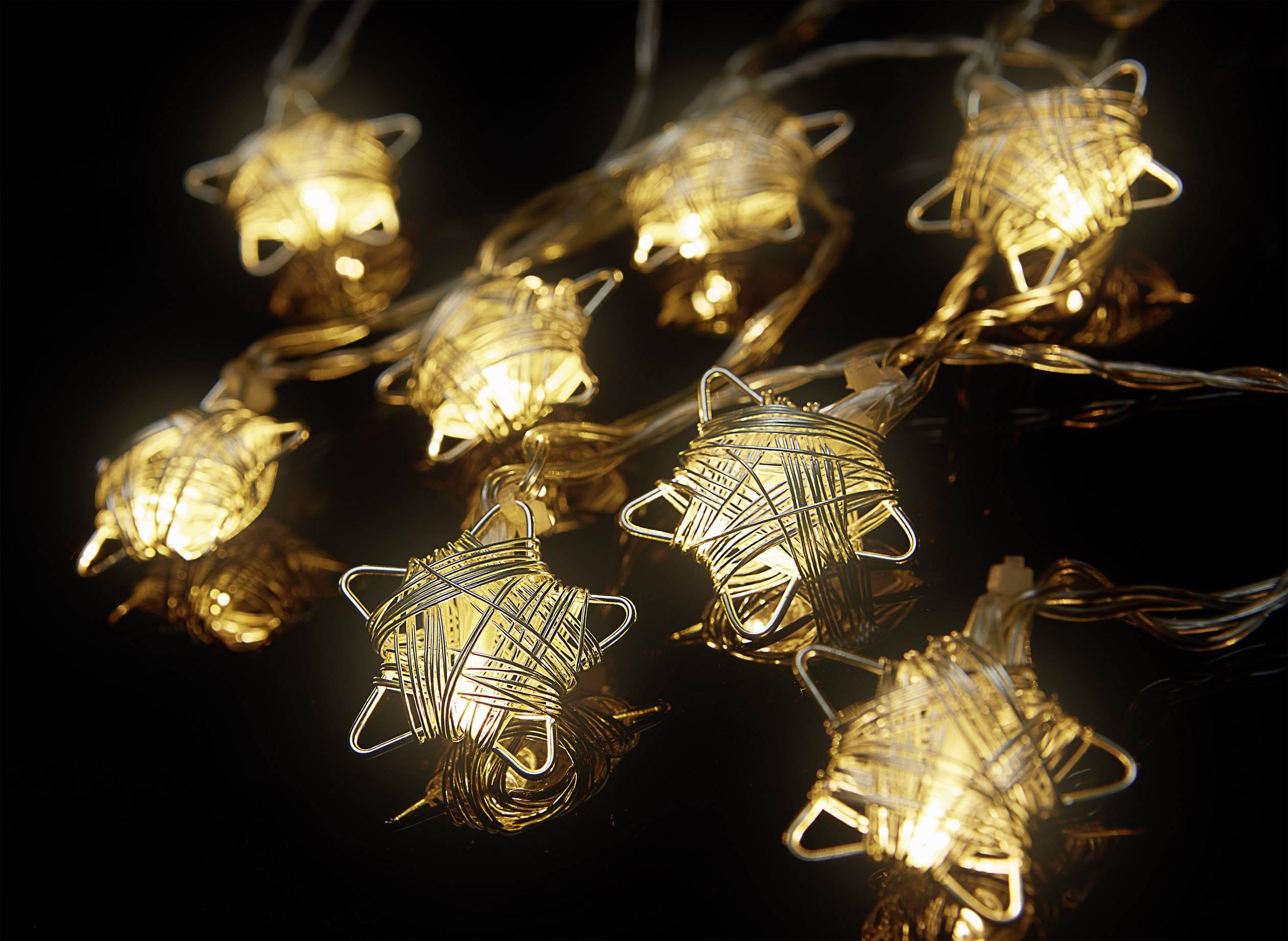 Vnitřní LED světelný řetěz s motivem Polarlite , 16 LED, teplá bílá, na baterii, 3,3 m