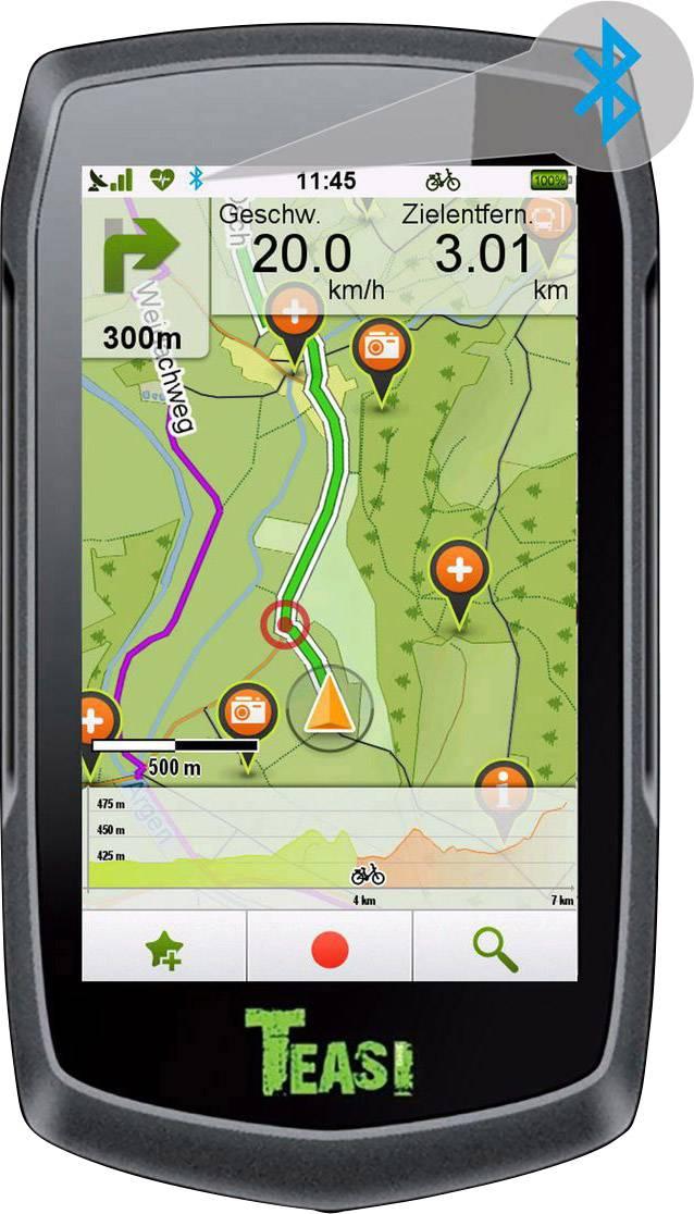 Outdoorová navigace Teasi One 3 pro Evropu