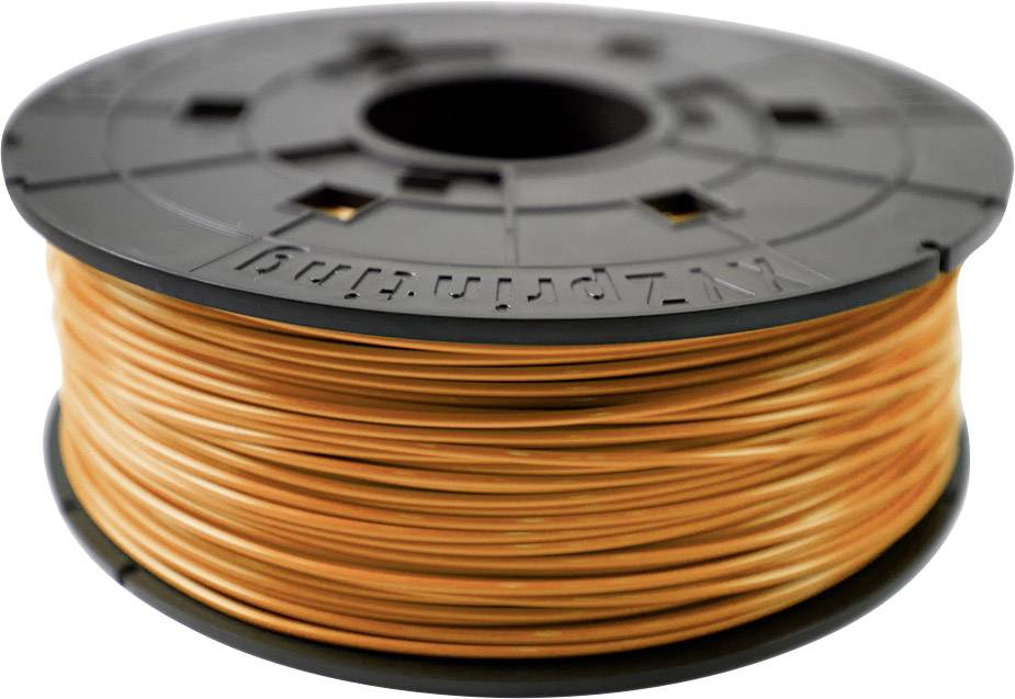 Vlákno pro 3D tiskárny XYZprinting RFPLCXEU07B, PLA plast, 1.75 mm, 600 g, oranžová