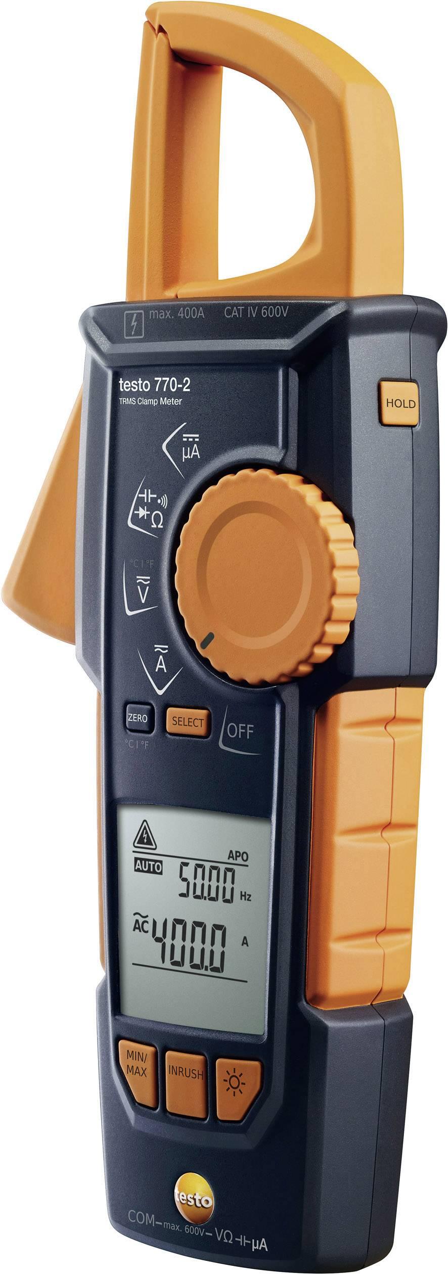 Digitální proudové kleště, multimetr testo 770-2