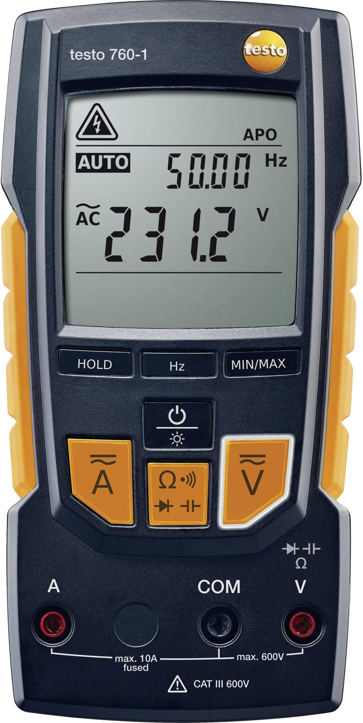 Digitální multimetr testo 760-1 0590 7601