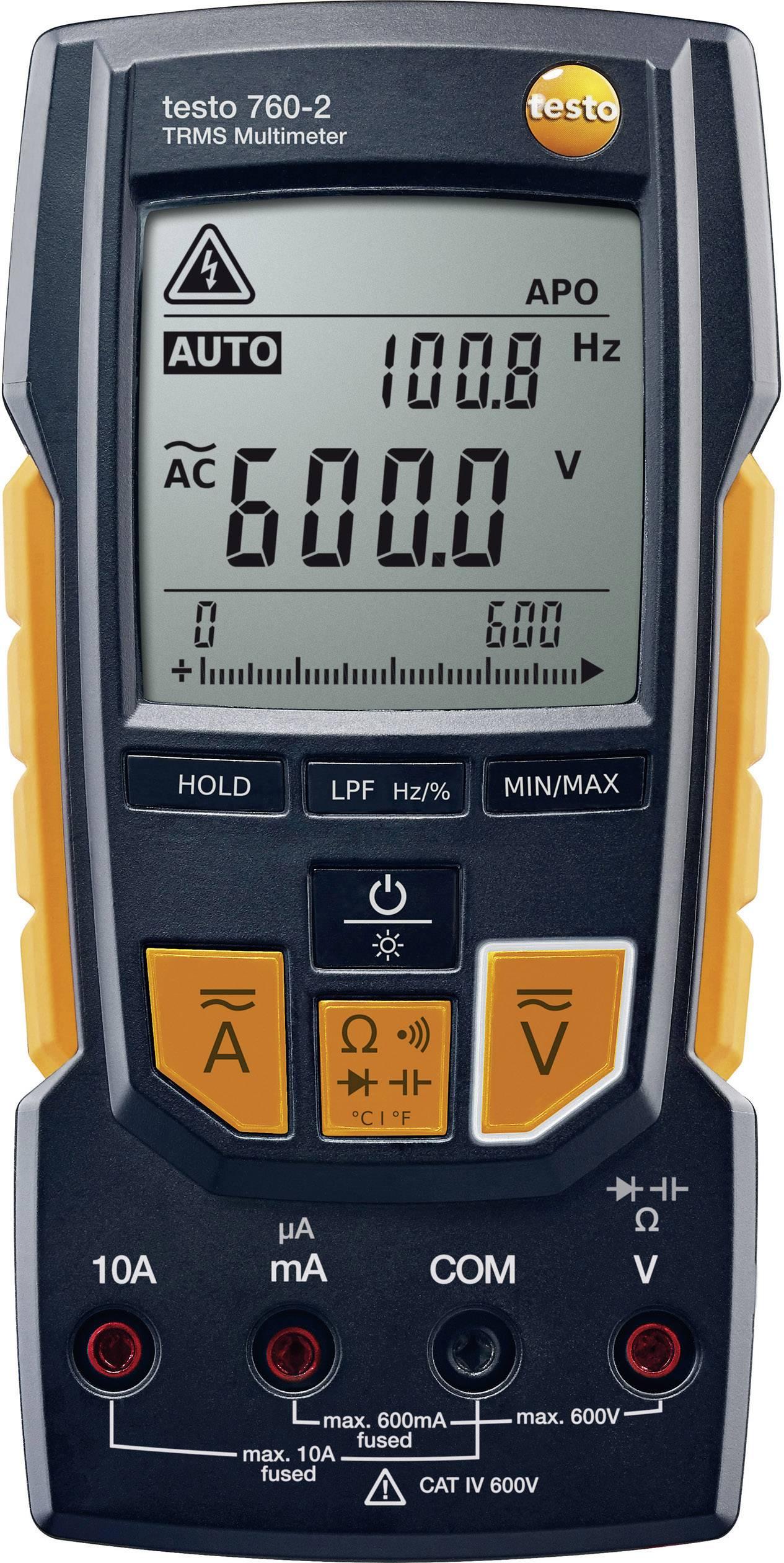 Digitální multimetr testo 760-2 0590 7602