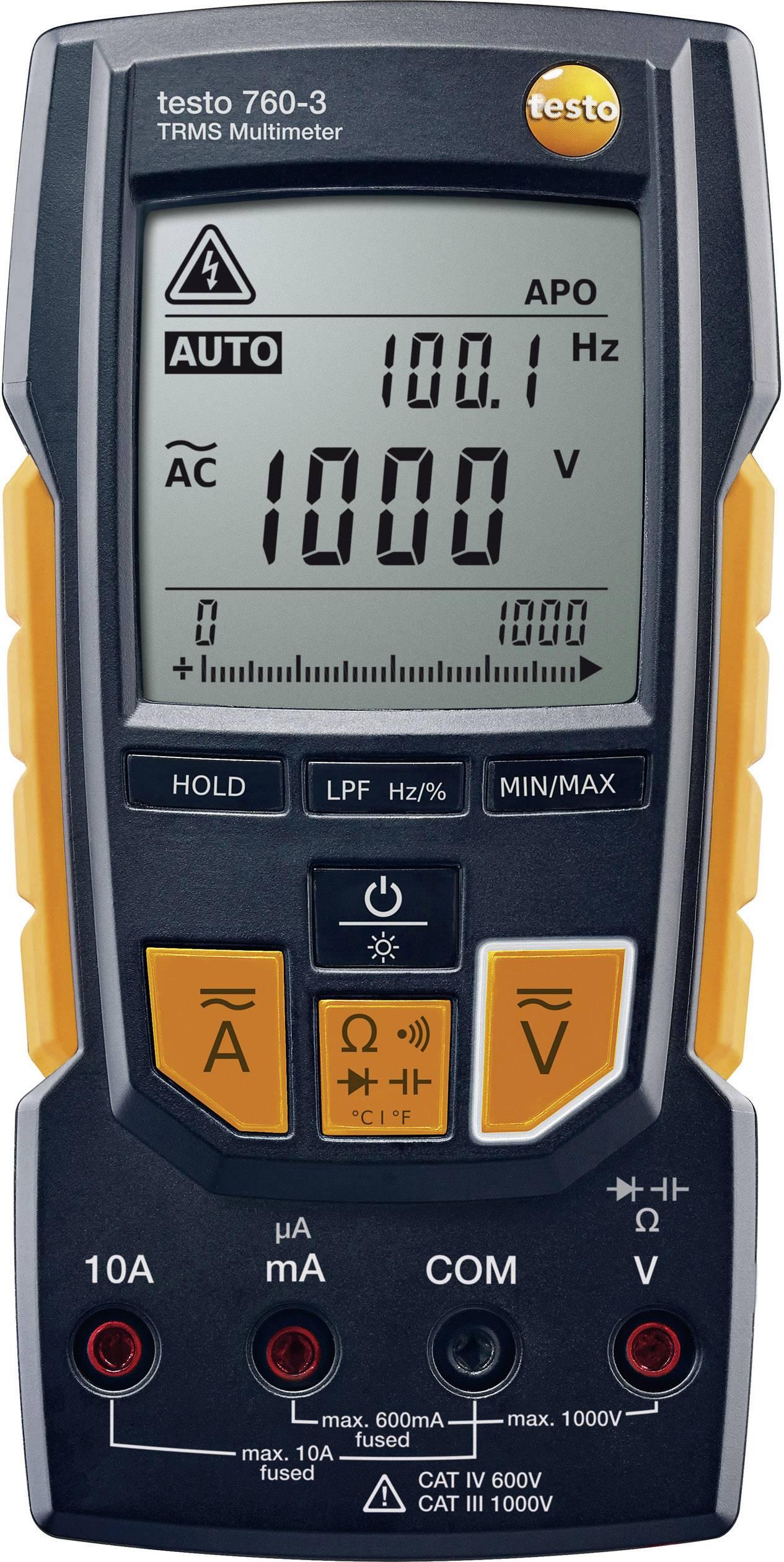 Digitální multimetr testo 760-3 0590 7603