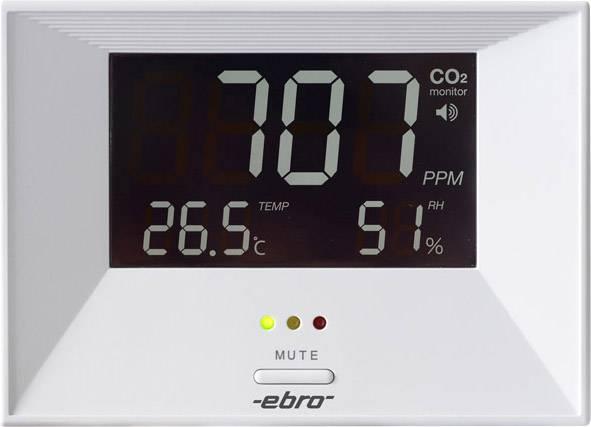 Měřič oxidu uhličitého (CO2) ebro RM 100, 0 - 3000 ppm