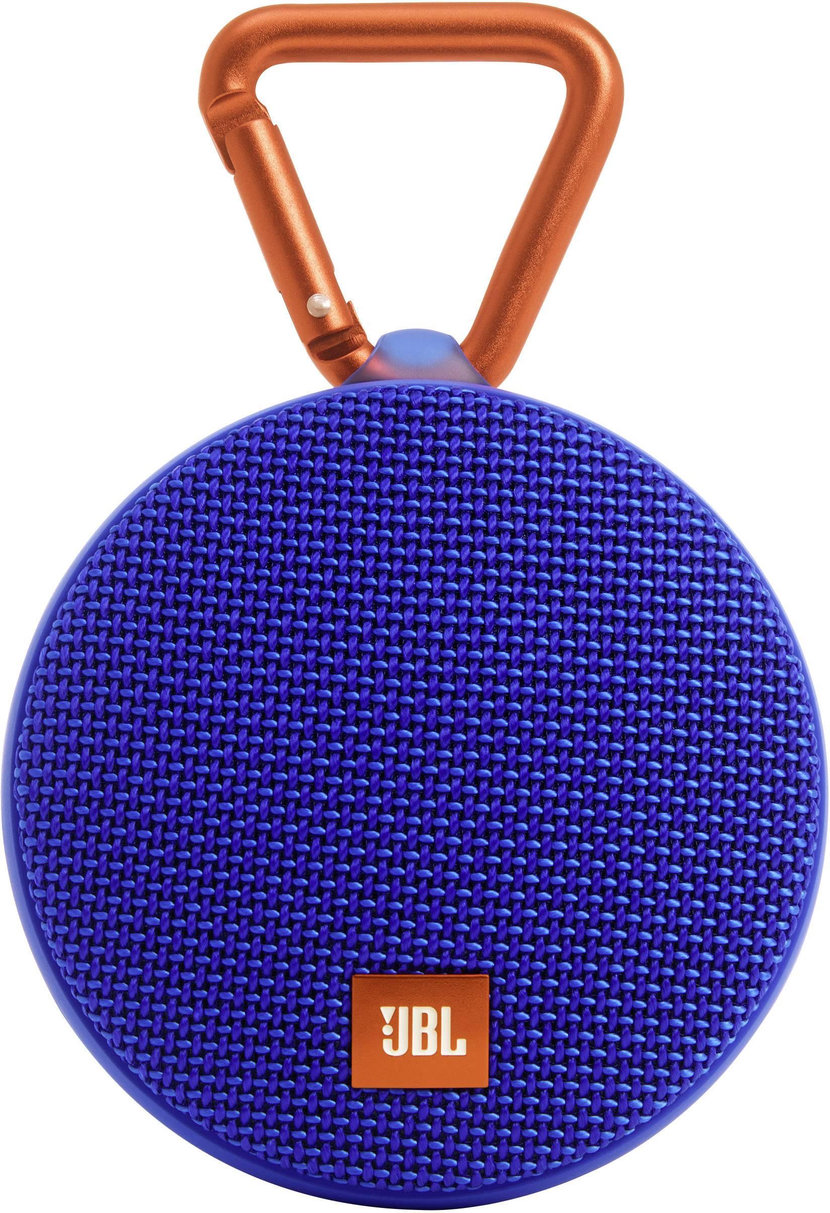 Vodotesný Bluetooth® reproduktor JBL Harman Clip 2, modrá