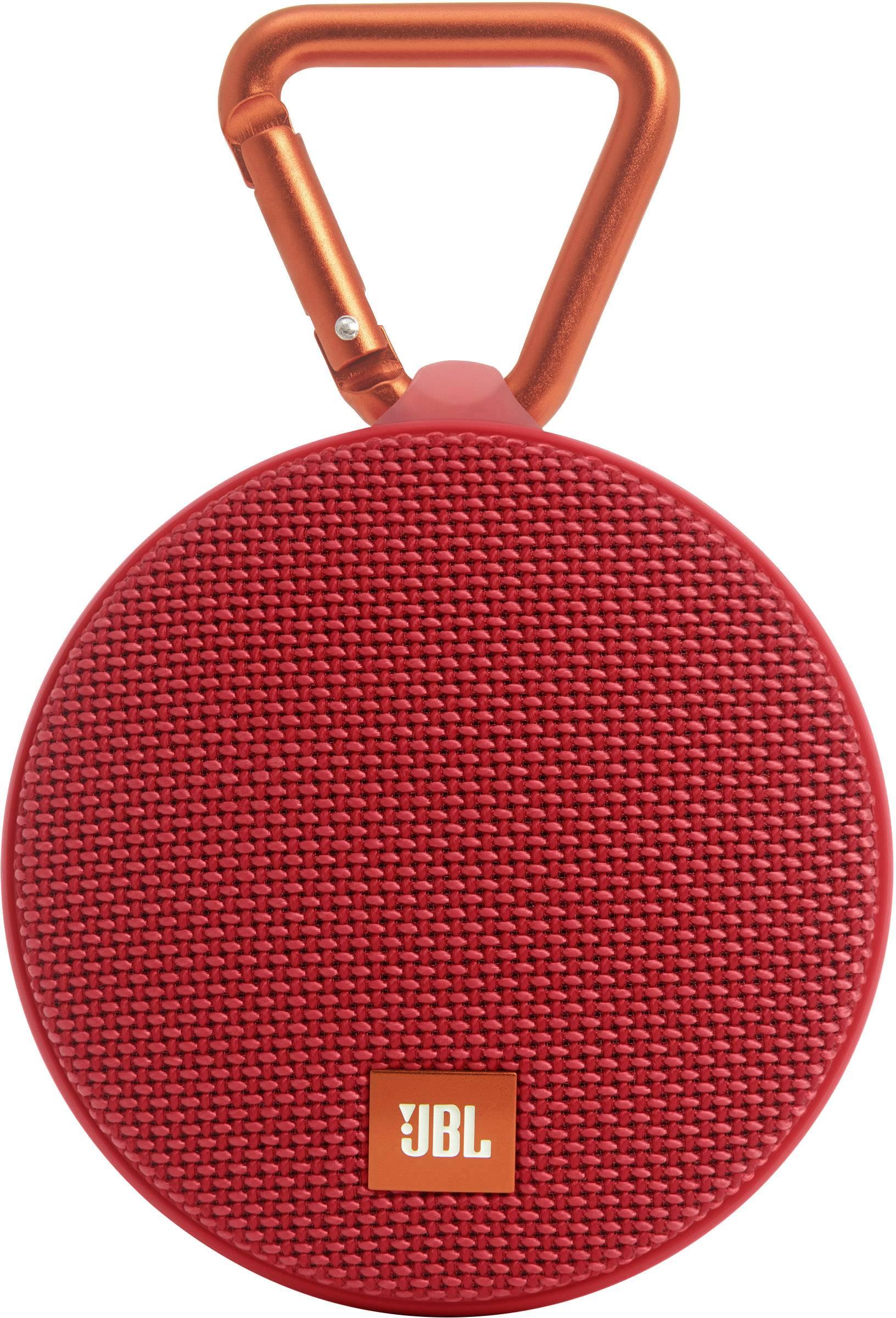 Vodotesný Bluetooth® reproduktor JBL Harman Clip 2, červená