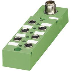 Pasívny box senzor/ aktor Phoenix Contact SACB- 4/3-L-M12-M8 1516234, 1 ks