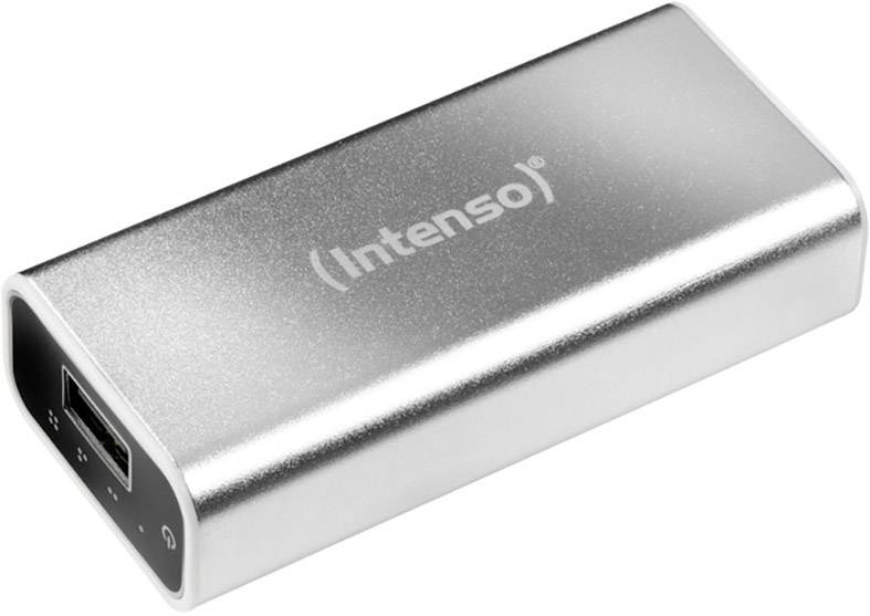 Powerbanka Intenso 5200 Li-Ion akumulátor 5200 mAh, stříbrná