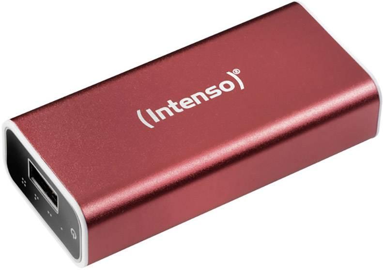 Powerbanka Intenso 5200 Li-Ion akumulátor 5200 mAh červená