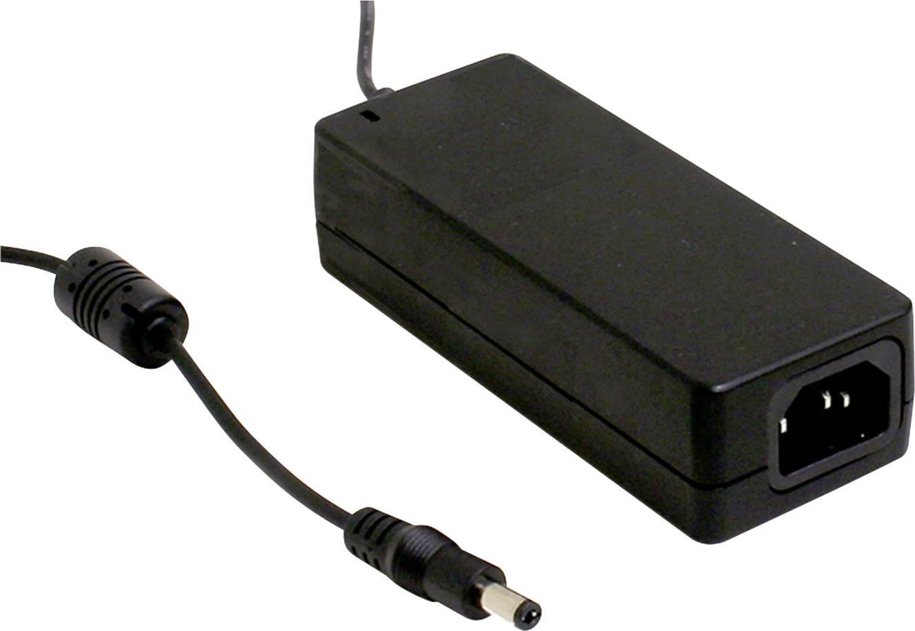 Stolní napájecí adaptér, stálé napětí Mean Well GST60A18-P1J 18 V/DC 3.33 A 60 W
