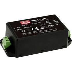 Sieťový zdroj AC/DC do DPS Mean Well IRM-60-12ST, 60 W