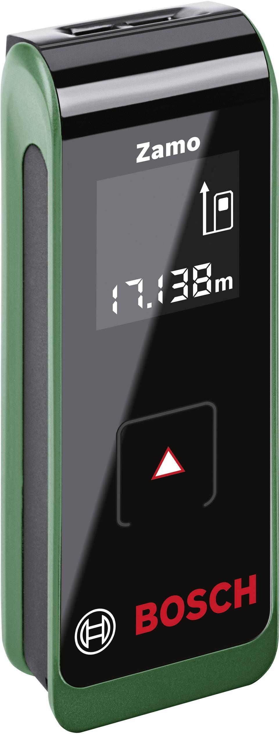 Laserový měřič vzdálenosti Bosch Home and Garden Zamo II 0603672601, max. rozsah 20 m