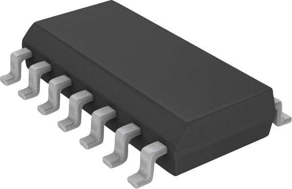 IO Analog Digital prevodník (ADC) Microchip Technology MCP3204-CI/SL, SOIC-14