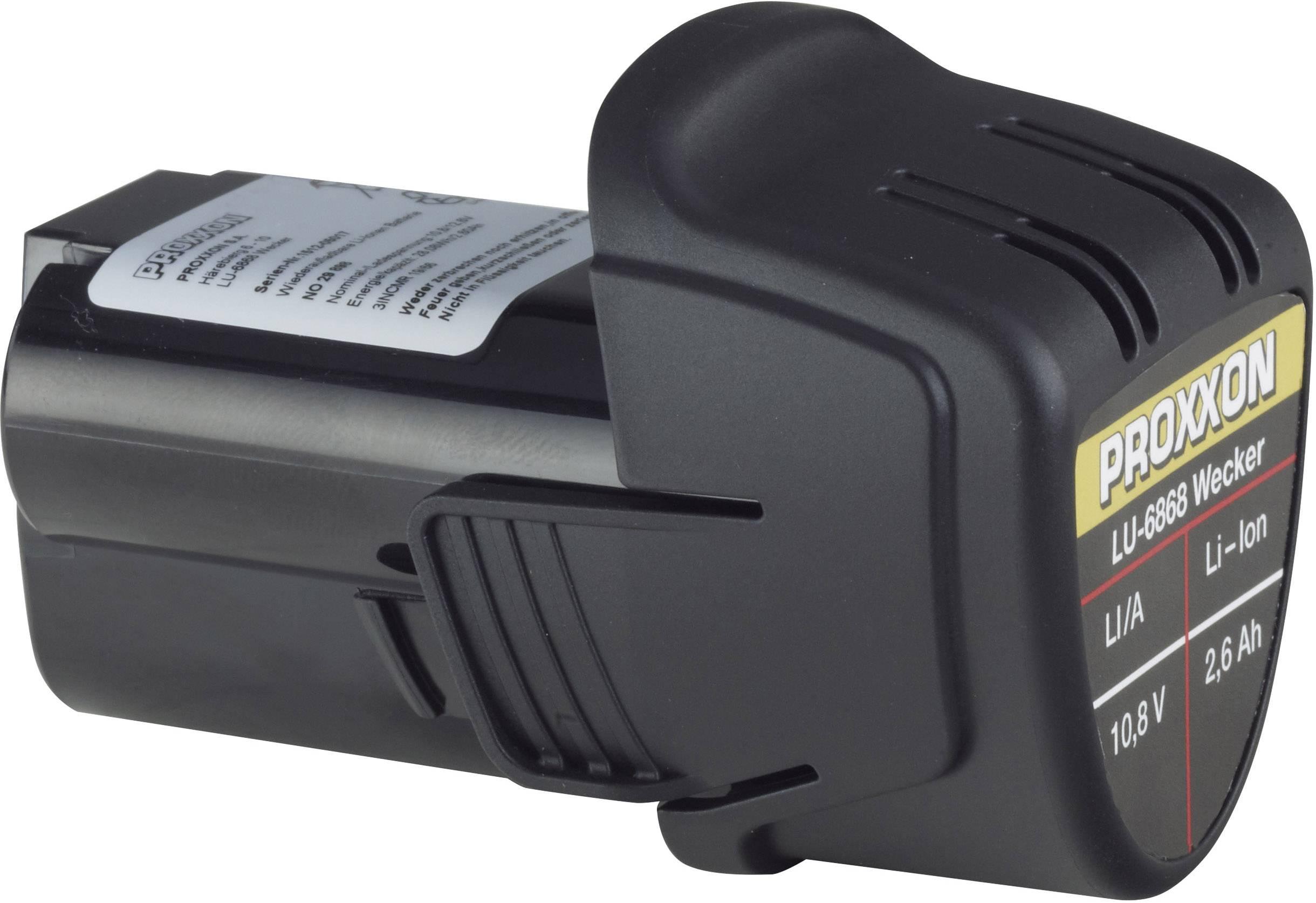 Náhradní akumulátor pro elektrické nářadí, Proxxon Micromot Li/A 29898, 10.8 V, 2.6 Ah, Li-Ion akumulátor