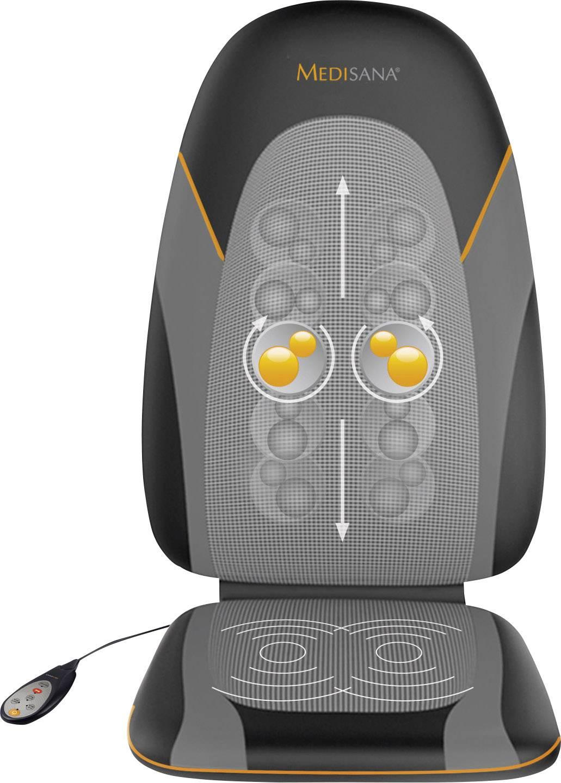 Masážny poťah sedačky Medisana MC 830, 30 W, čierna/sivá