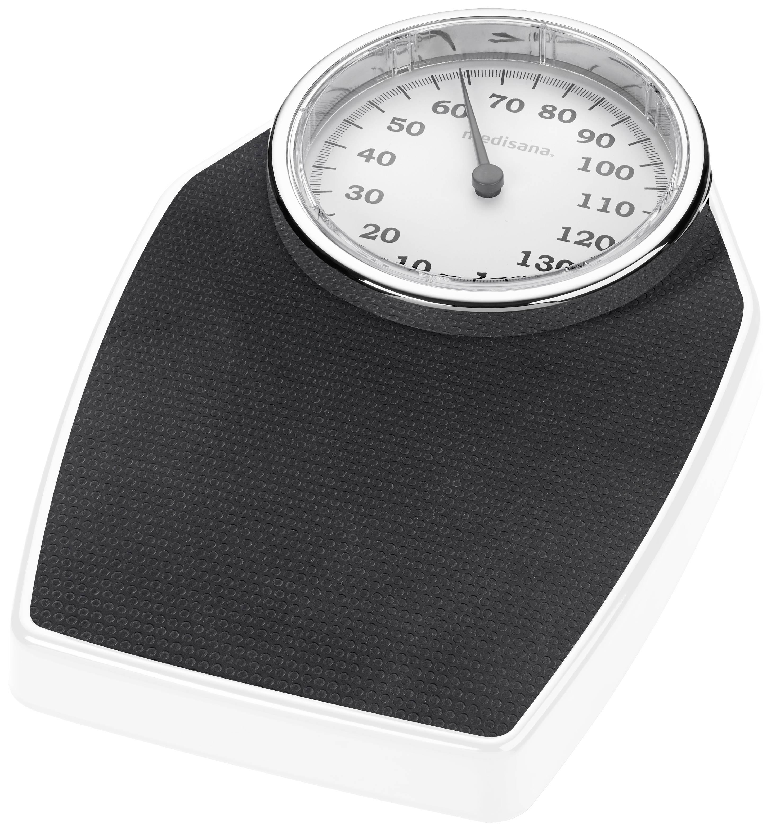 Analogová osobní váha Medisana PSD, černá/bílá