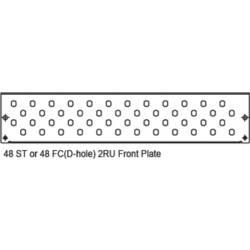 Rozvodná deska pro optické kabely Digitus DN-96214-2U šedobílá (RAL 7035)