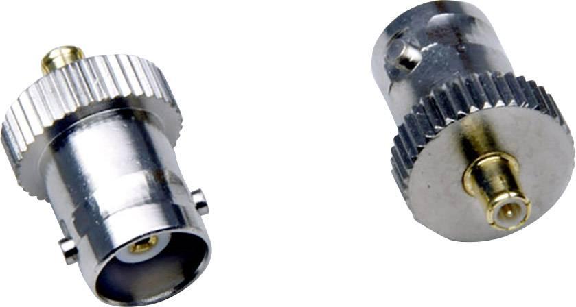 MCX adaptér BKL Electronic 0416316, MCX zástrčka - BNC zásuvka, 1 ks