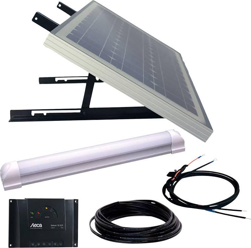 Solárne zariadenie Phaesun SUPER ILLU ONE 600300, 30 Wp, vr. kábla, vr. nabíjacieho regulátora, s LED