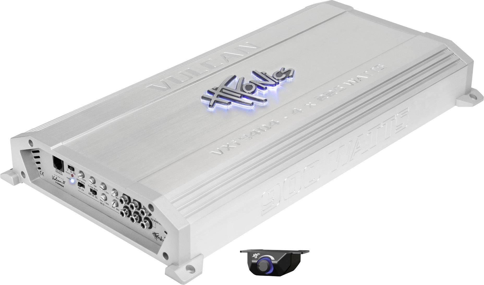4-kanálový koncový zosilovač Hifonics vulcan VXi-9404 vxi9404
