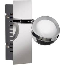 Nástenný LED reflektor WOFI Fulton 4740.01.01.0000, 6 W, teplá biela, chróm