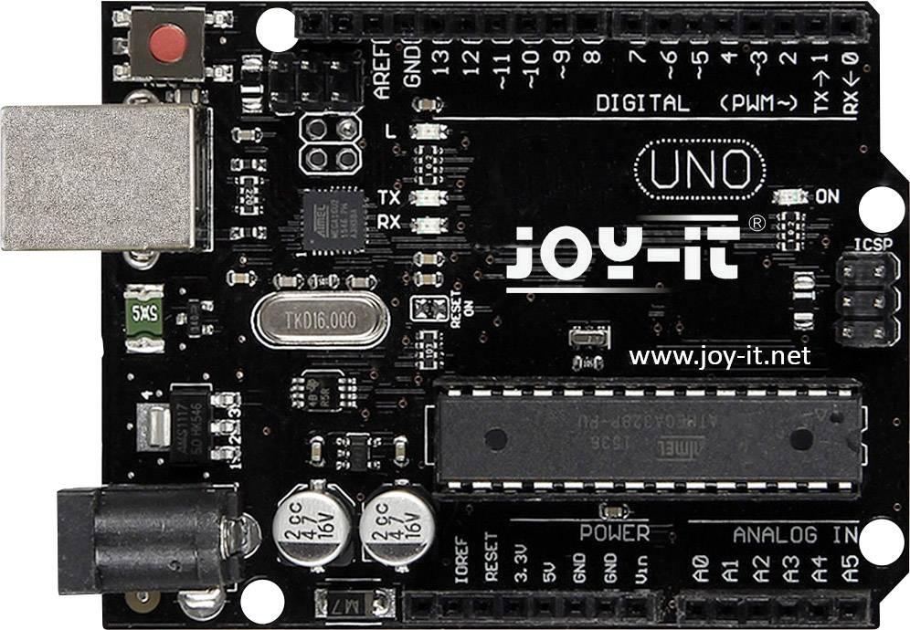 Propojovací deska Joy-it Arduino Uno R3 DIP Joy-IT ARD_UNO_R3DIP, ATMega328