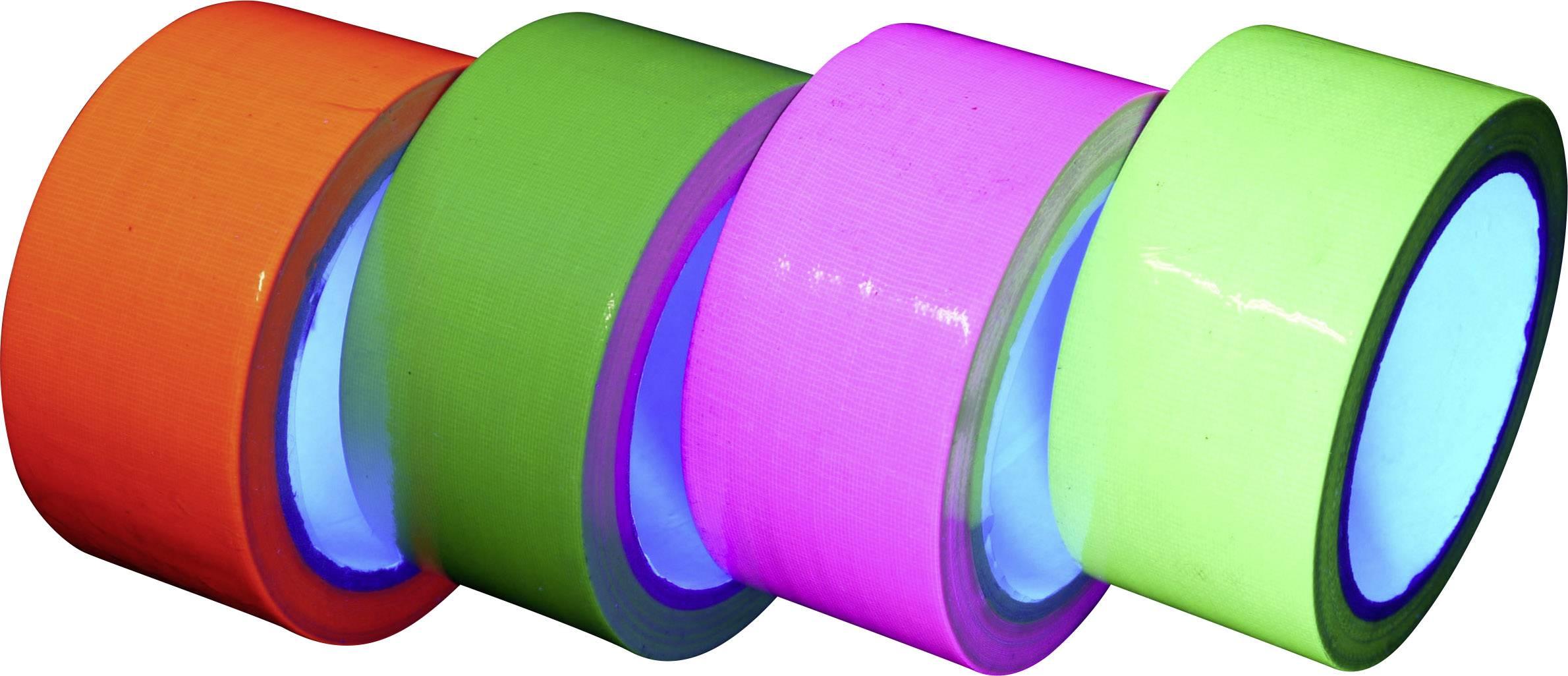 Sada lepiacich pások UV / NEON v 4 farbách, 1456561