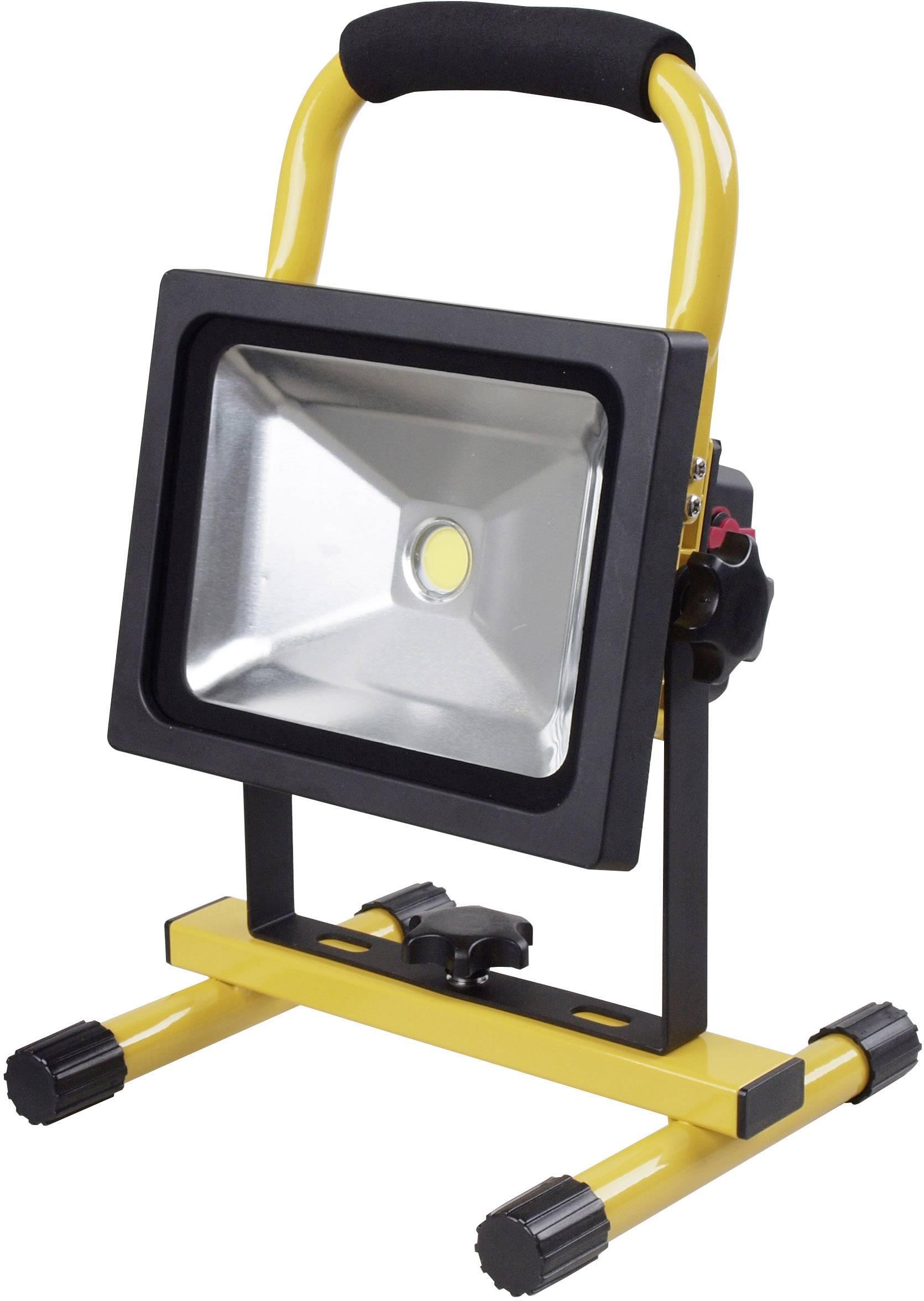 COB LED akumulátorové pracovní osvětlení Shada 300155, 20 W, 1500 lm